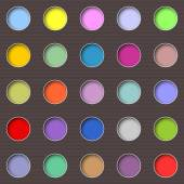 Abstract multicolored holes — ストックベクタ