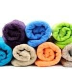 Cotton towels — Stock Photo #63618941