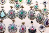 Old style jewels — Stock Photo
