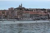 マルセイユの港 — ストック写真