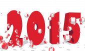 2015 year number — Foto Stock