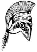 Lejyon kask — Stok Vektör
