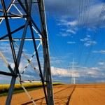 Power line — Stock Photo #69715115