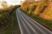 Countryside road at perspective — Foto de Stock