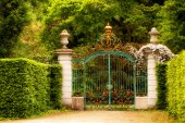 Magic gate — Stock Photo