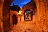 Medieval passage — Stock Photo