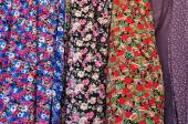 Floral pattern textile — Stock Photo