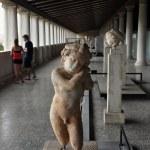 Ancient statue of eros — Stock Photo #57546289