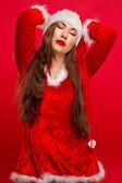 Sexy santa. — Foto Stock