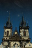 Prague at night.  — Stock Photo