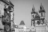 Prague through the eyes of birds — Stock Photo