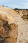 Krafla path — Stock Photo