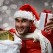 Crazy santa — Stock Photo #58098803