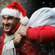 Crazy santa — Stock Photo #58098815