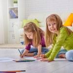 Drawing children — Stock Photo #76540223