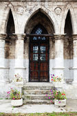 Church in the Gothic style — Stock Photo