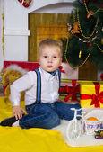 Happy in Christmas — Foto de Stock