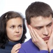 Young couple quarreling — Stock Photo #54259491
