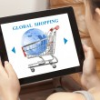 Global shopping — Stock Photo #56056951