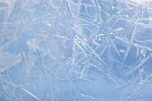 Getextureerde ijs — Stockfoto