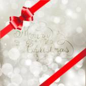 Silver  christmas background — Wektor stockowy