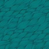 Vettore senza soluzione di continuità astratta disegnata a mano modello con onde — Vettoriale Stock