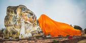 Reclining Buddha in Wat Lokayasutharam — Stock Photo