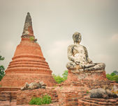 Wat Worachetharam. Ayutthaya — Stock Photo