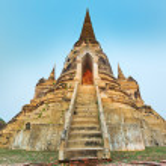 Wat Phra Si Sanphet — Stock Photo #77190229