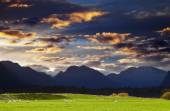 Mountain landscape, New Zealand — Stock Photo