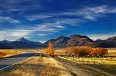 Mount Cook, Canterbury, New Zealand — Stock Photo
