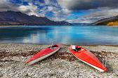 Wakatipu Lake, New Zealand — Stock Photo