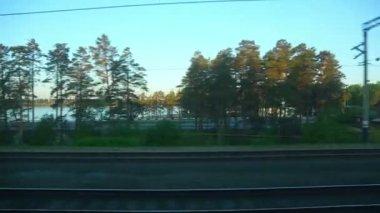 Train motion — Stock Video