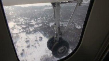 Plane gear — Stock Video