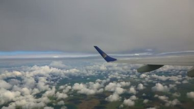 Aerial cloudscape — Stock Video