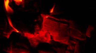 Burning Embers — Stock Video
