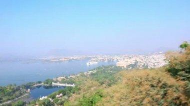 Udaipur panorama — Stock Video