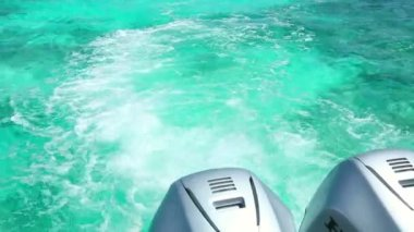 Azure water — Stock Video