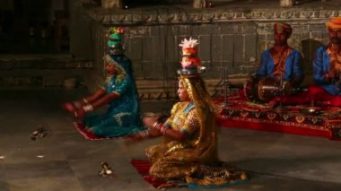 Indian Traditional Dances — Wideo stockowe
