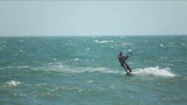 Kite surfer — Video Stock