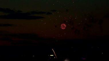 烟花 — 图库视频影像