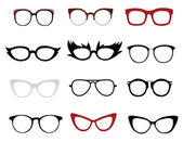 Stylish glasses — Stock Vector