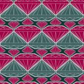 Pattern from diamond — Stockvektor