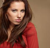 Amazing beautiful woman — Stok fotoğraf