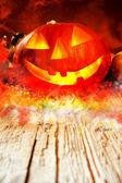Halloween dýně — Stock fotografie