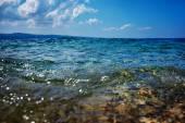 Adriatische zee achtergrond — Stockfoto