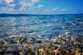 Adriatic sea background — Stock Photo