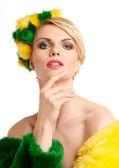 Spring woman portrait — Stock Photo