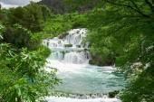 Beautiful landscape near Waterfall Krka — Stock Photo