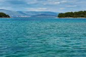 Adriatic Sea coastline — Stock Photo